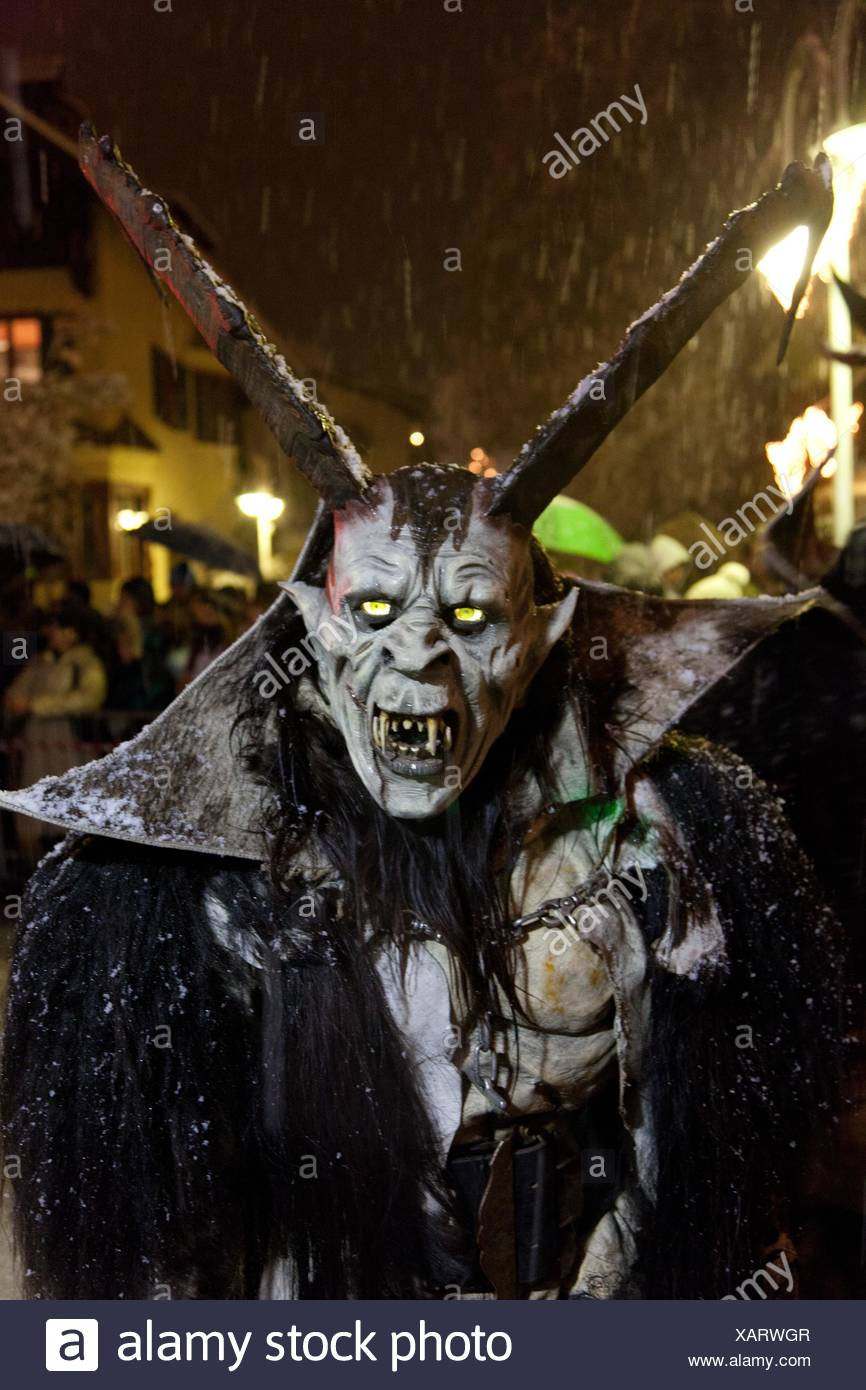 Krampus Is A Mythical Creature Recognized In Alpine Countries Campo