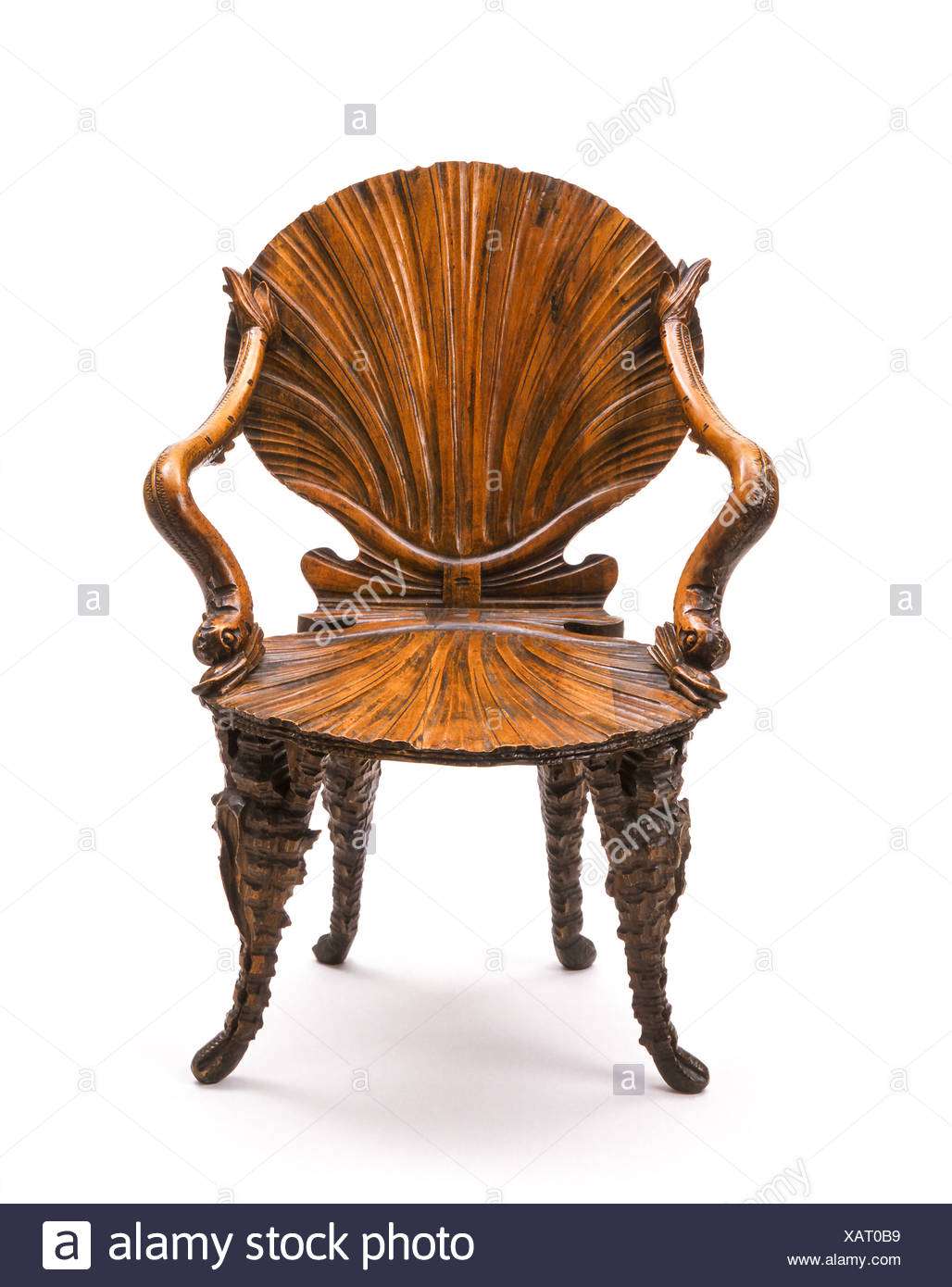 Alter Antiker Stuhl, Antiquitäten..Antique chair..Old, Chair, Antique, Antiques, Ancient, Furniture, Nobody, Seat, Rarity - Stock Image