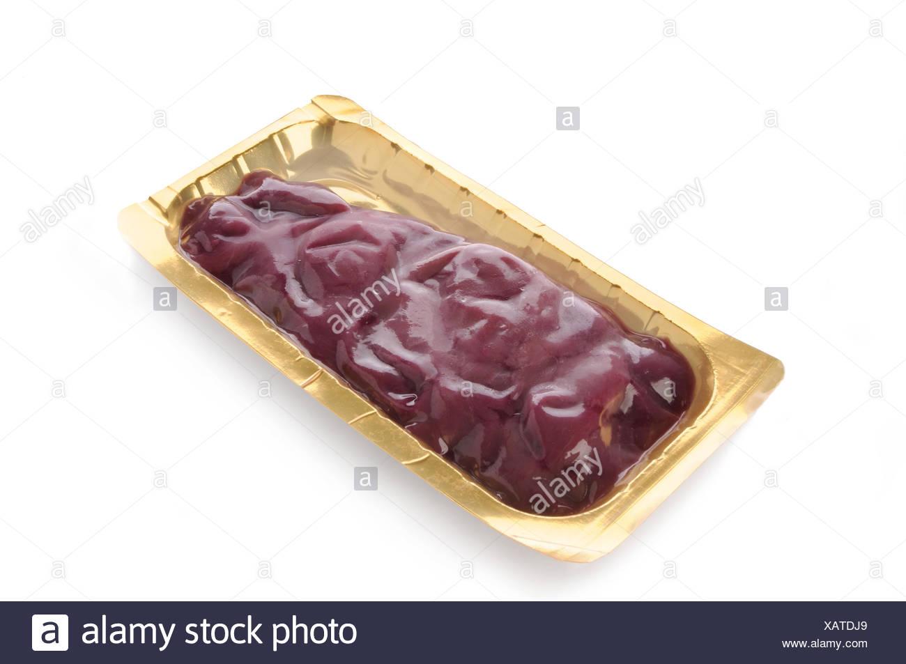 roe-deer stroganoff skin pack - Stock Image