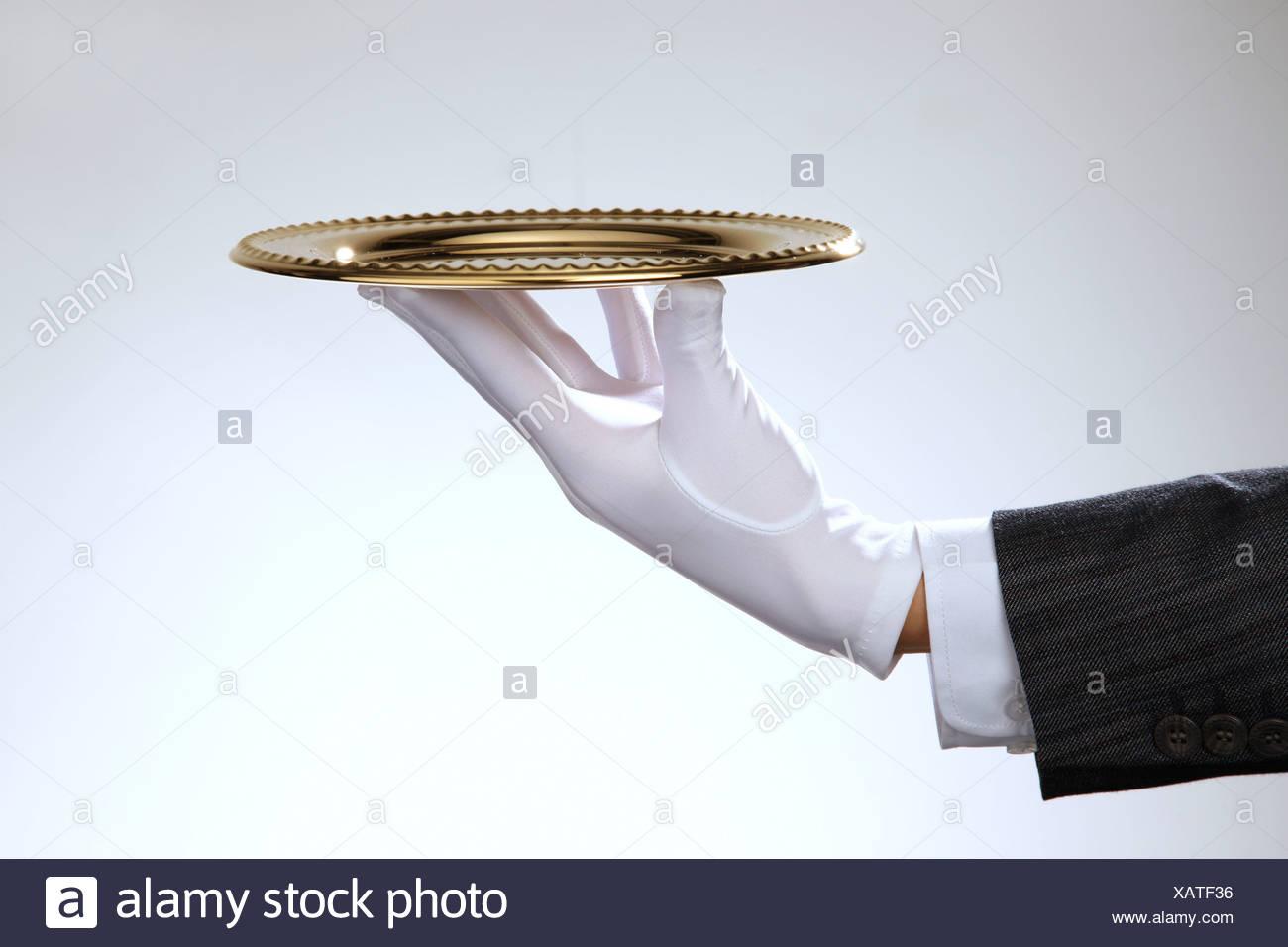 Serving Tray,still life - Stock Image