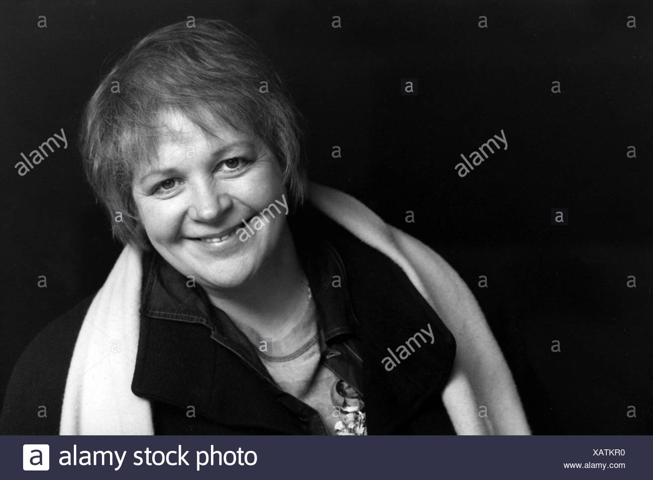 Lochhead, Liz, * 1947, English author / writer, portrait, 1994, Additional-Rights-Clearances-NA - Stock Image