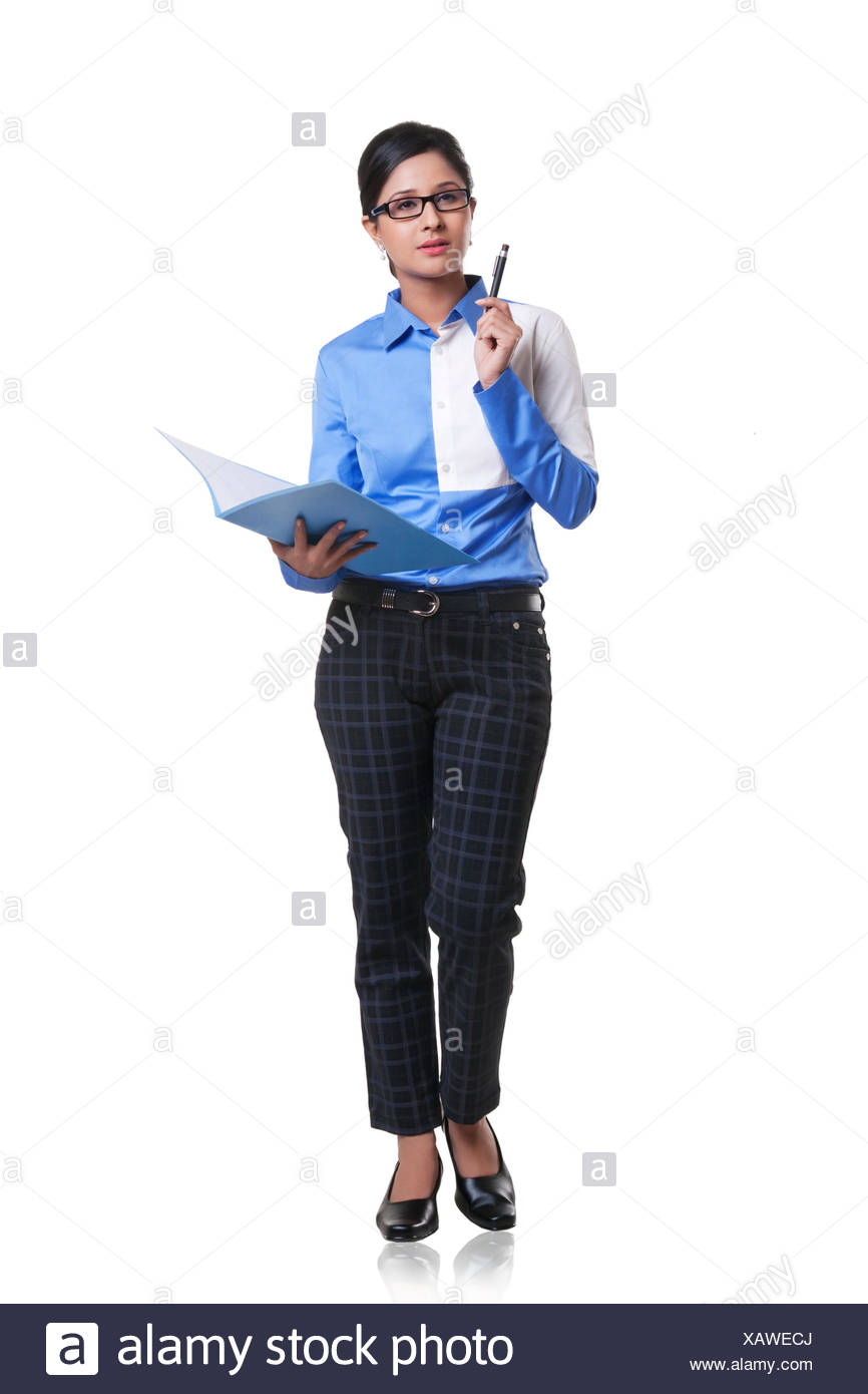 Portrait of a corporate WOMEN - Stock Image