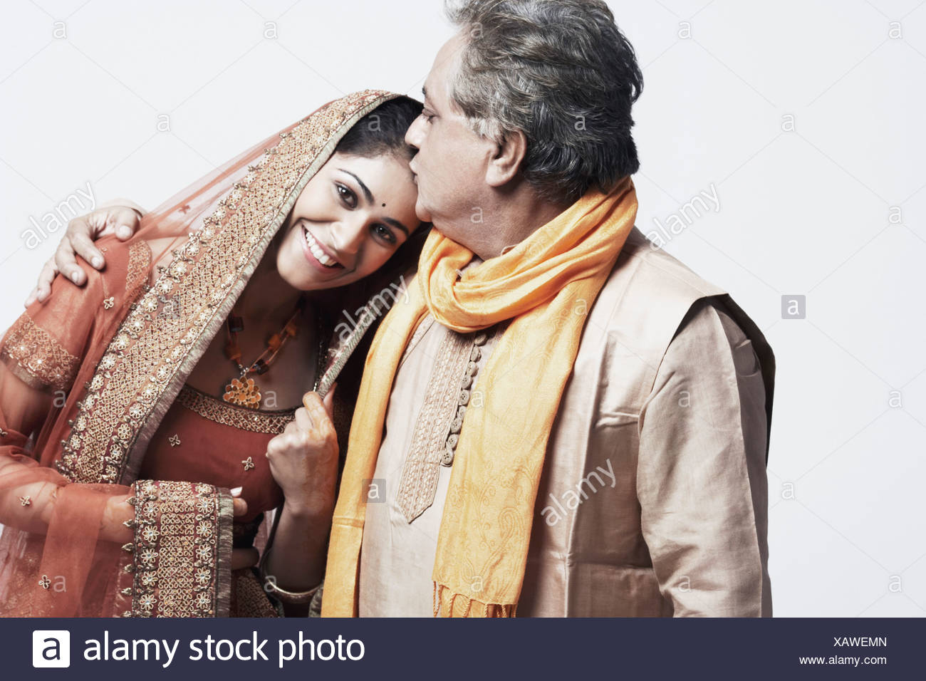 Indian Father Daughter Wedding High Resolution Stock Photography And Images Alamy