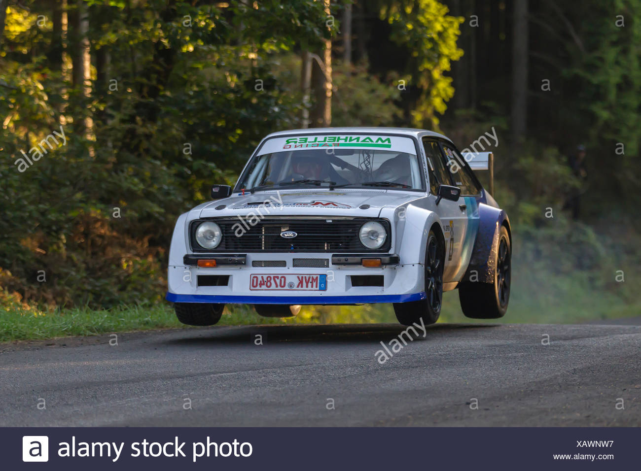 Oldtimer Eifel Rallye Festival 2014 WP 2, Daun, Vulkaneifel, Eifel, Rhineland-Palatinate, Germany - Stock Image