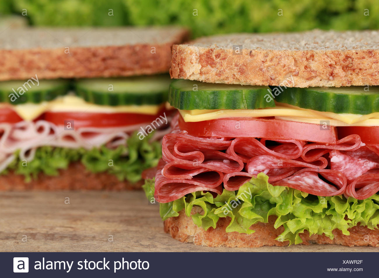 Sandwiches - Stock Image