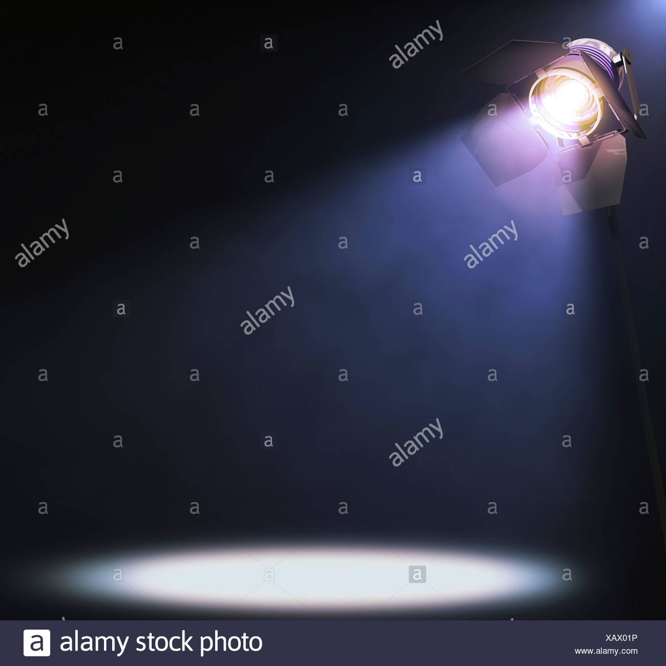 Spotlight, artwork - Stock Image