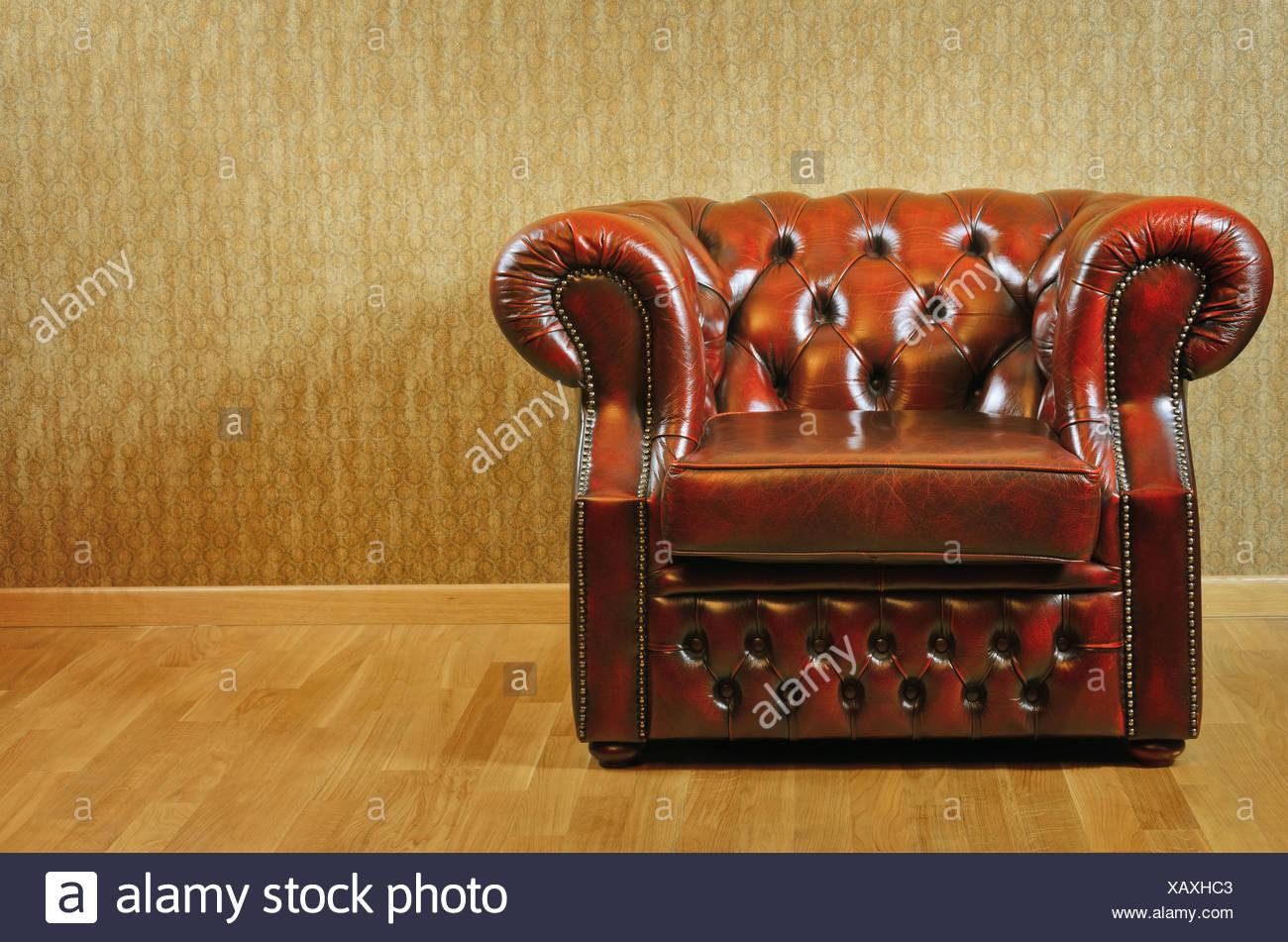 Armchair - Stock Image