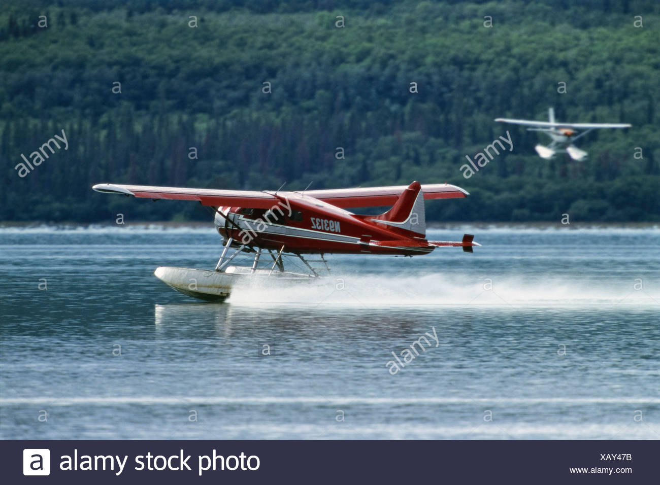 Sea planes, Katmai Nationalpark, Alaska, USA - Stock Image