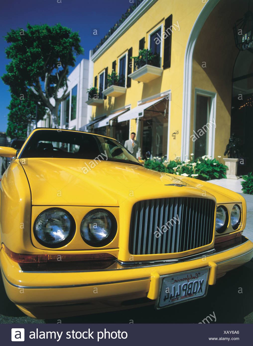 Rodeo Drive, Beverly Hills, Los Angeles, California USA Stock Photo