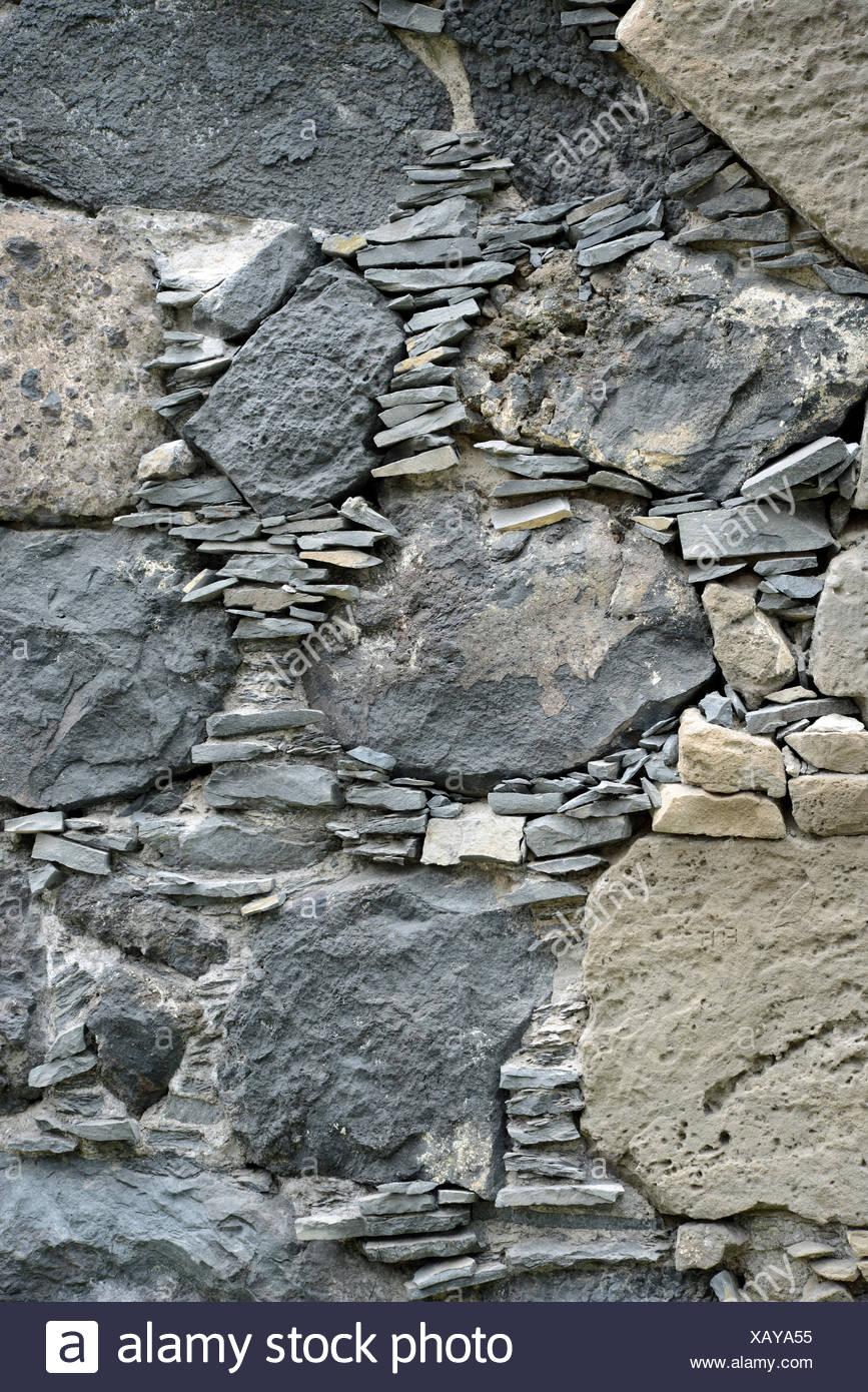 Natursteinmauer, Mauer, Steinmauer, Stein, Steine, Natursteine, Wand,  Hauswand, Steinwand, Rustikal, Bruchsteine