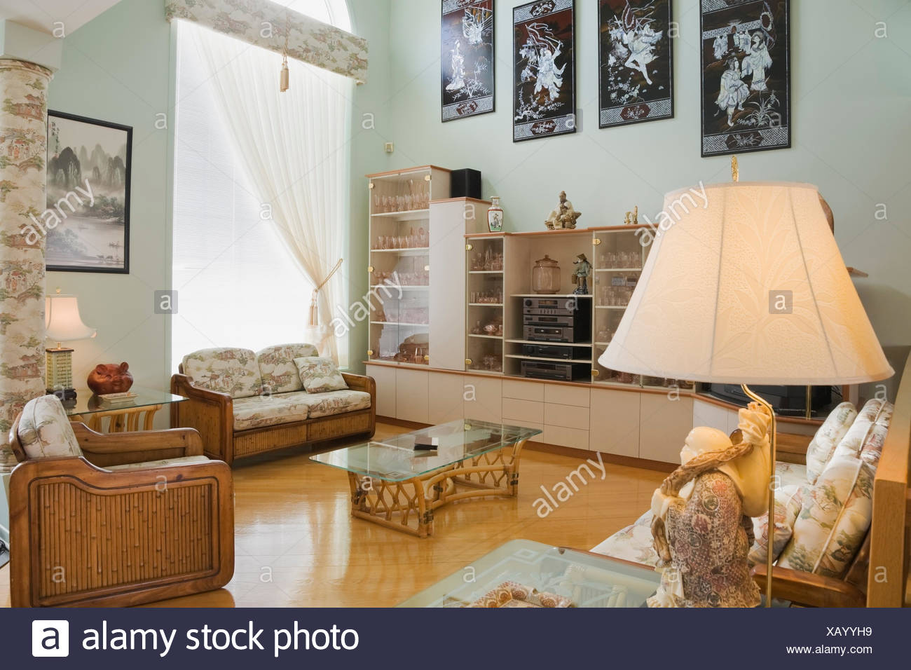 Chinese Style Furniture And Furnishings In A Modern Cottage Style