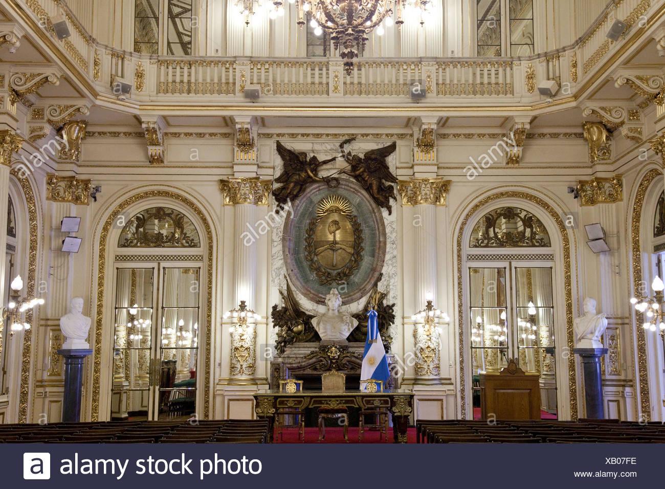 The interior of Casa Rosada in Buenos Aires, Argentina ...