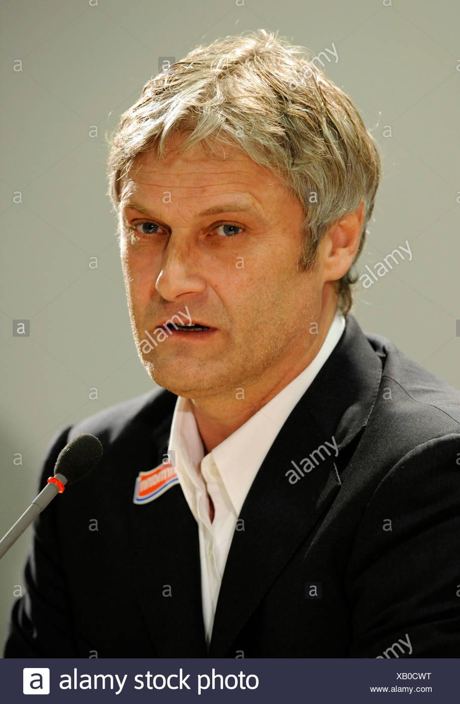 Coach Armin VEH, VfB Stuttgart football club - Stock Image