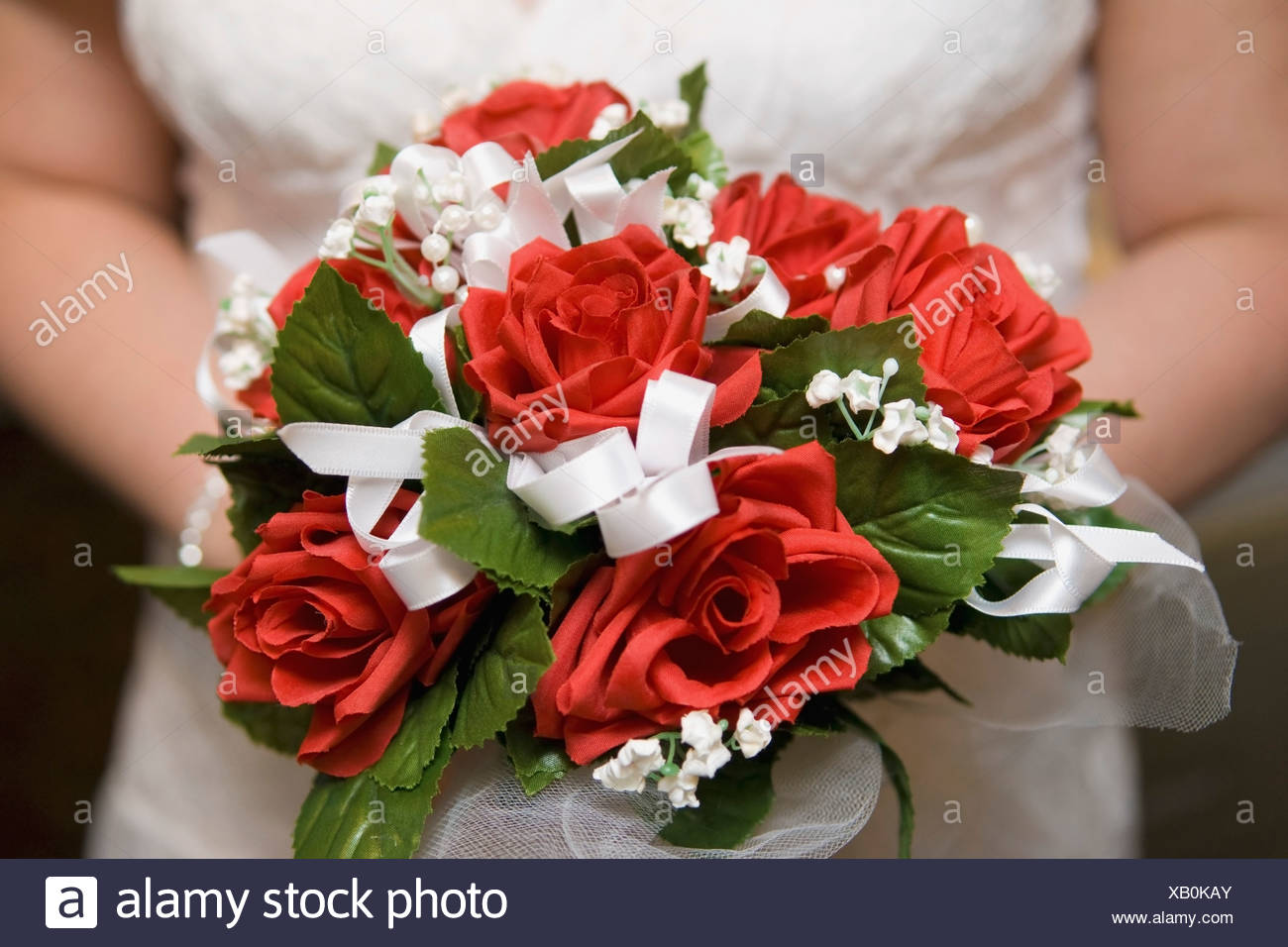 A Bridal Bouquet - Stock Image