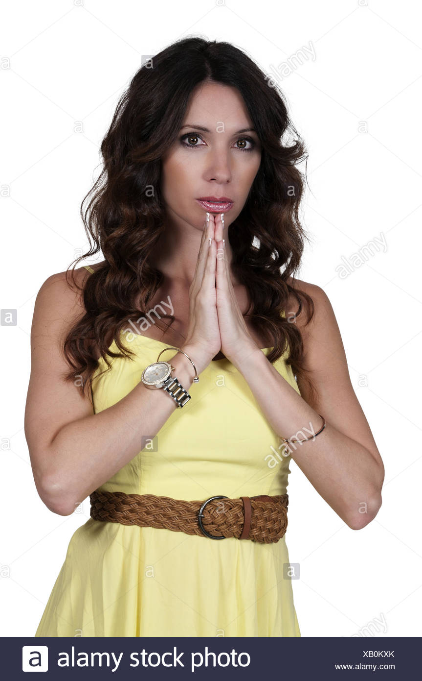 Excited woman - Stock Image