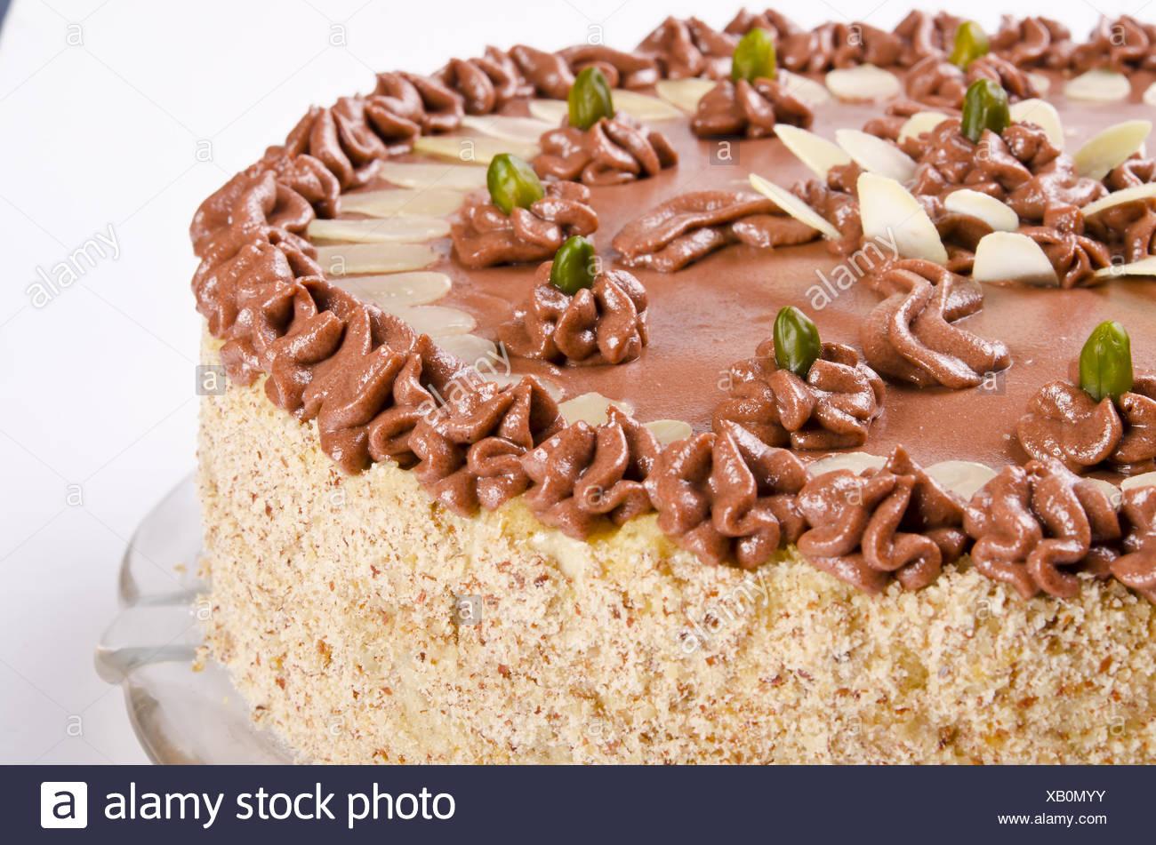 Halva cake - Stock Image