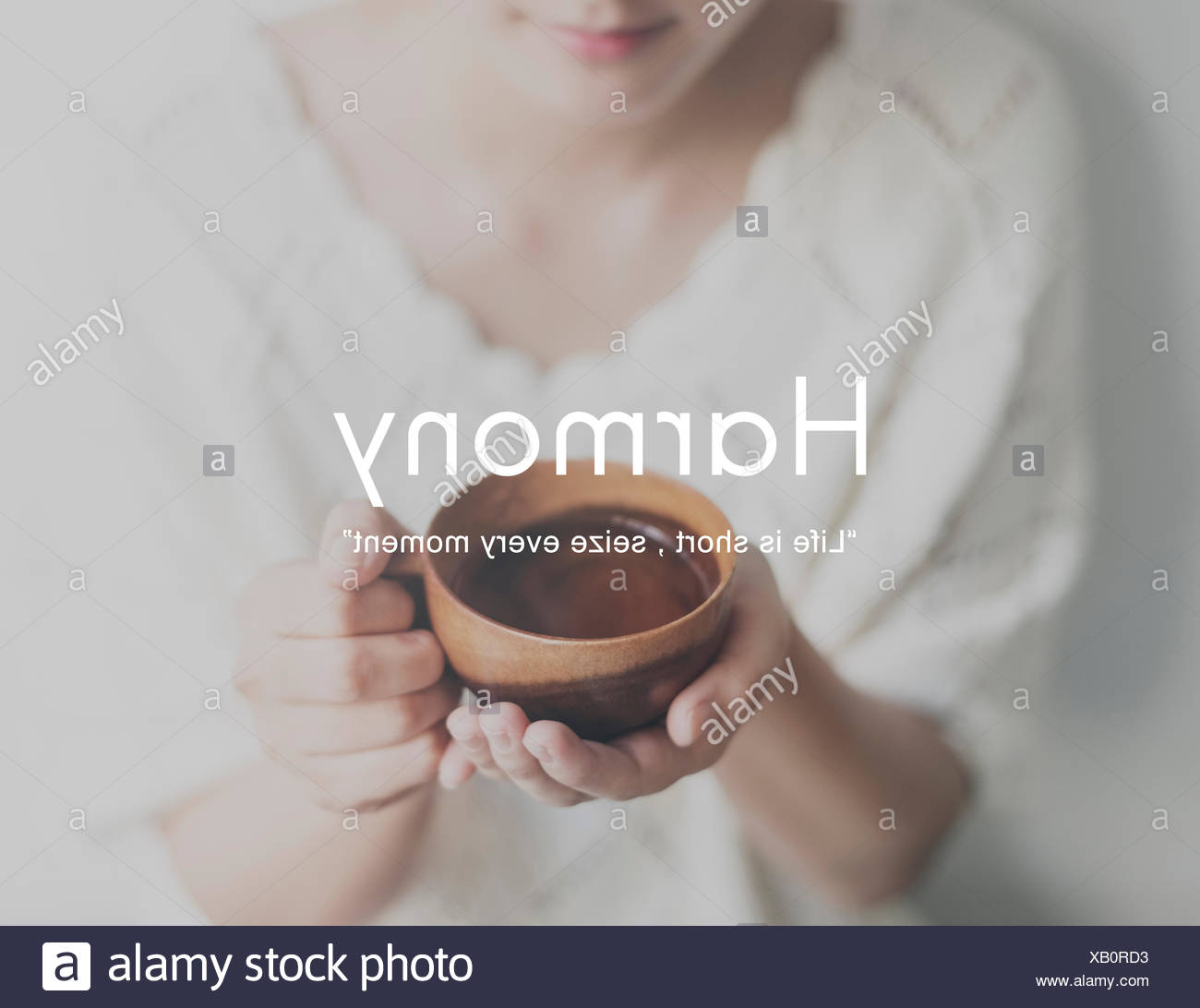 Harmony Happiness Activity Life Concept - Stock Image