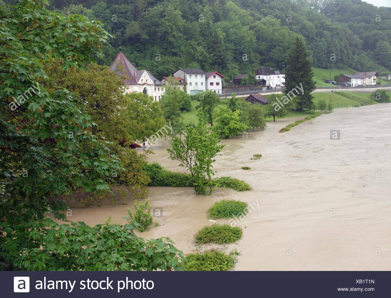 flood, natural disaster, water, flood, catastrophe, natural disaster, - Stock Image