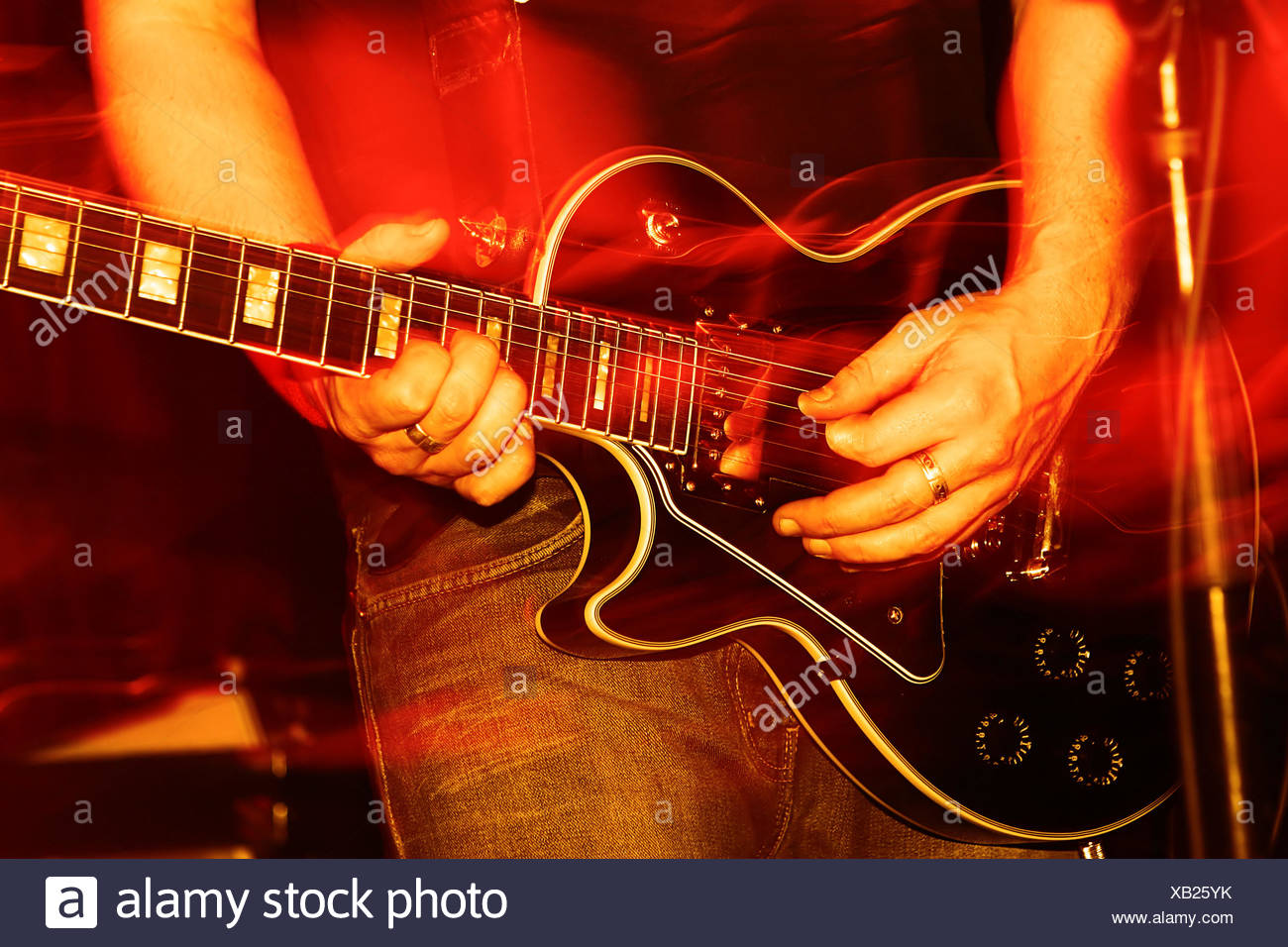 live concert - Stock Image
