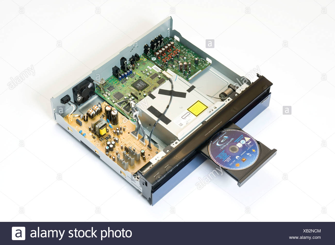 Sony DVD Blu-ray Player - Stock Image