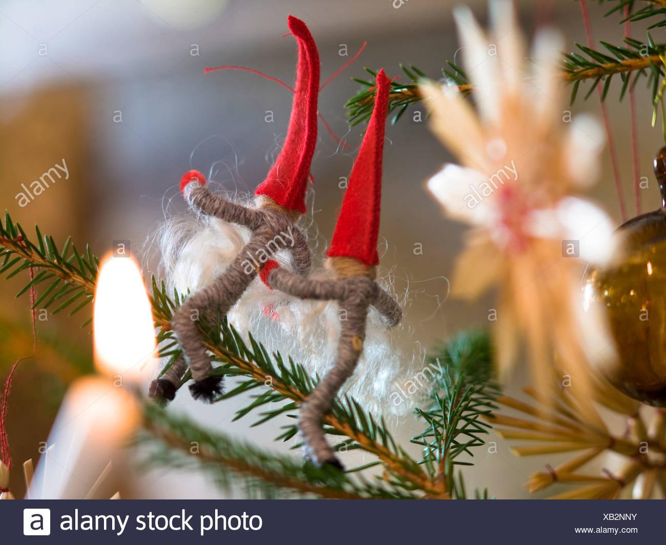 Christmas tree decoration, close-up. - Stock Image
