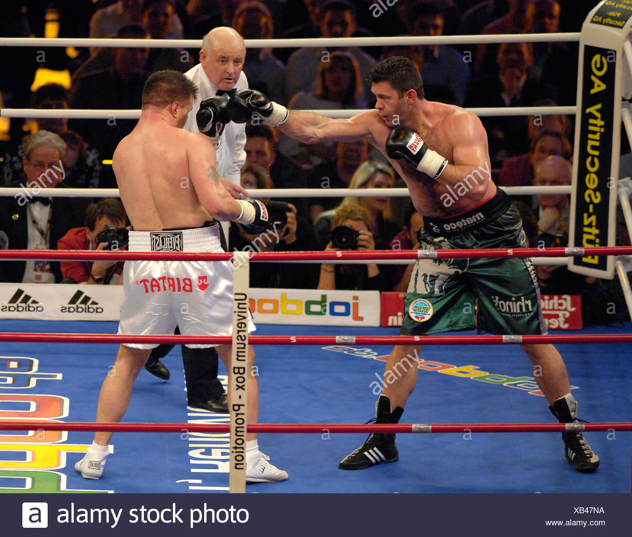 Luan Krasniqi Ger Boxing Brian Minto Usa Stock Photo Alamy
