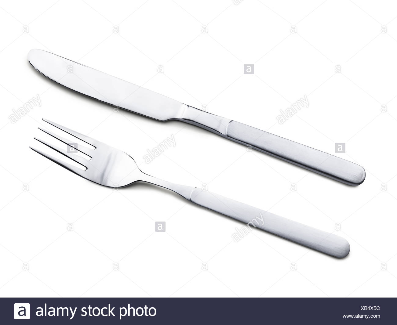 fork and knife - Stock Image