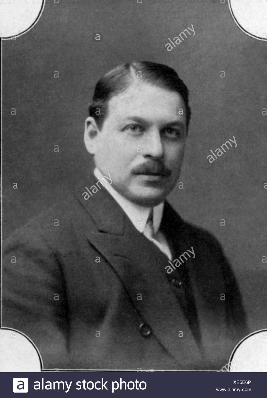 Kalman, Emmerich (Imre), 24.10.1882 - 30.10.1953, Hungarian composer, portrait, photograph by L. Gutmann, Additional-Rights-Clearances-NA - Stock Image