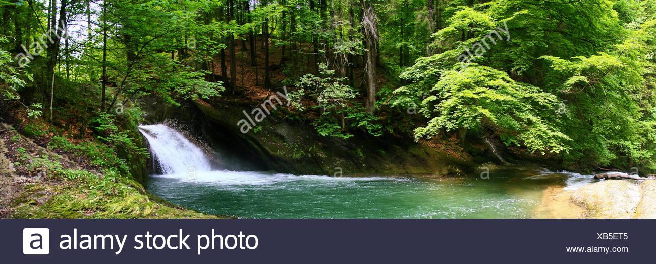 Eistobel Waterscape - Stock Image