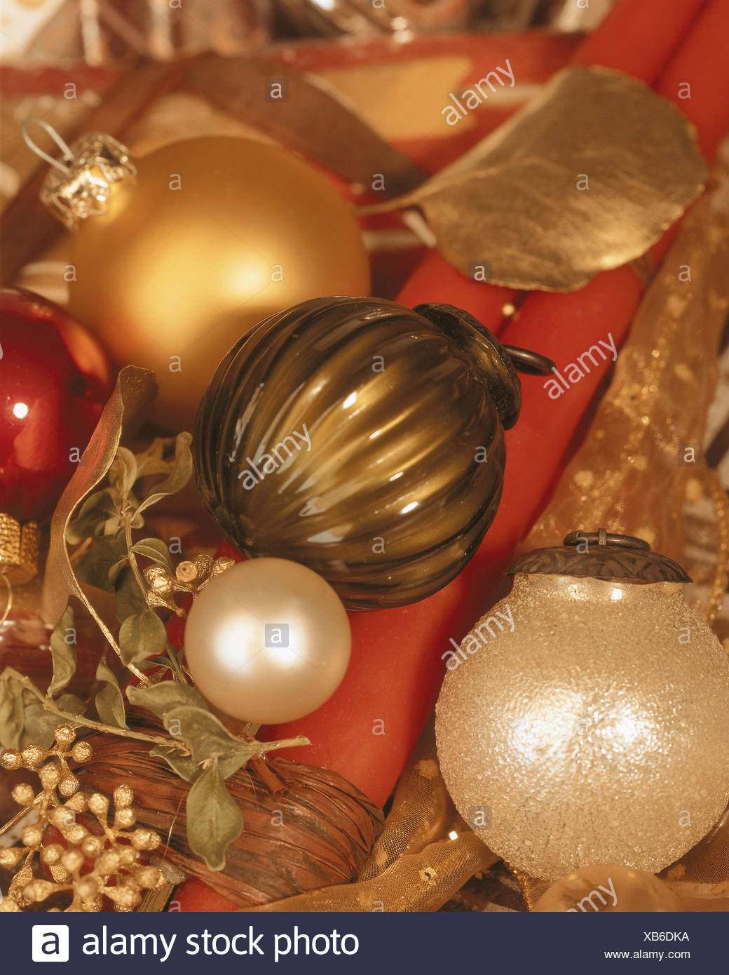 Weihnachtsdeko Xmas.Christmas Decoration Tree Detail Golden Stock Photos Christmas
