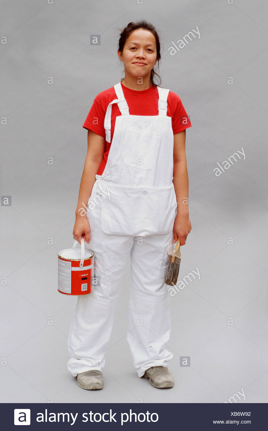 Painter and decorator - Stock Image