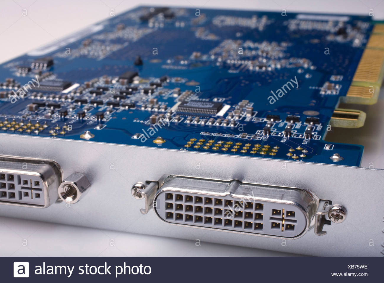 Computer Circuit Board Stock Photo 282285402 Alamy Assembly Buy Electronic Circuits Boardcircuit