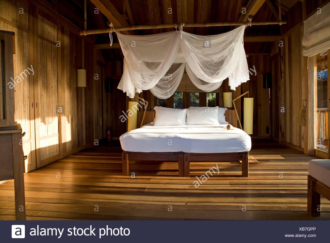 Hotel room, Nha Trang, Vietnam - Stock Image
