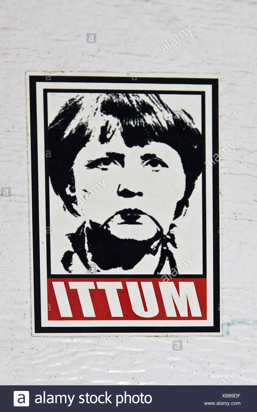 Merkel - Stock Image
