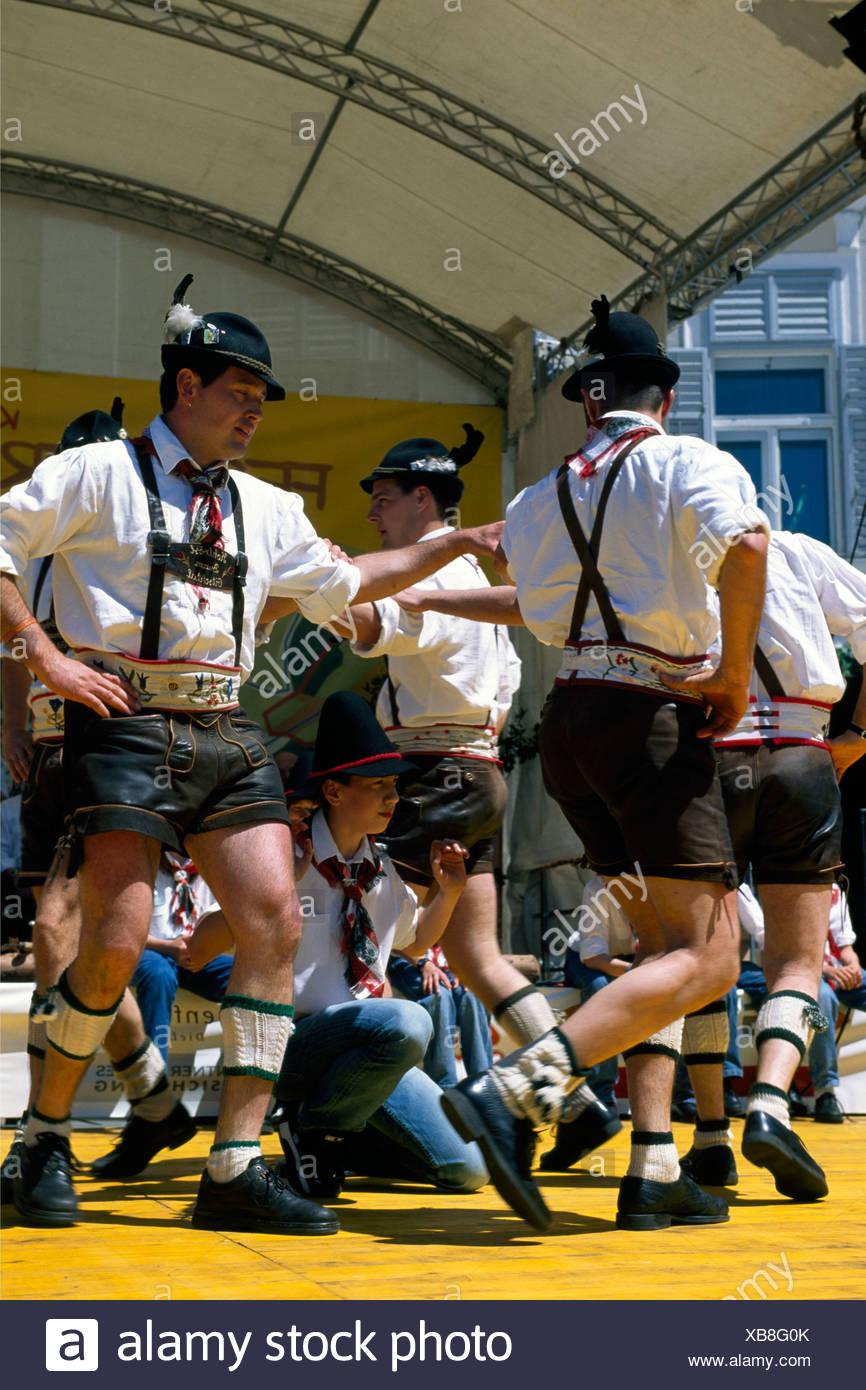 Fest der Taeler Folk Festival, Klagenfurt, Carinthia, Austria, Europe - Stock Image