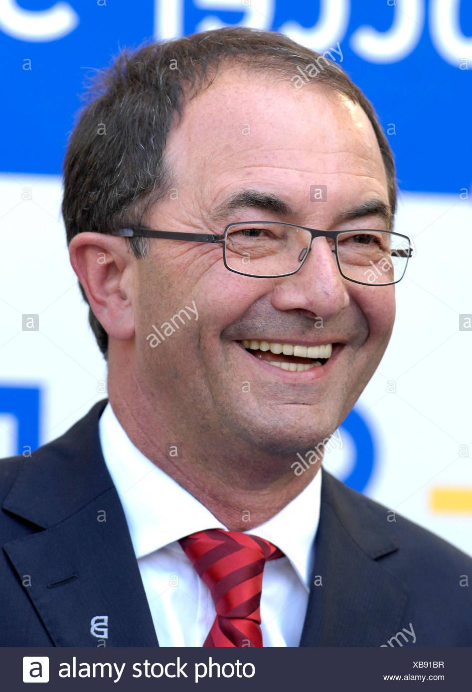 Erwin STAUDT CEO VfB Stuttgart - Stock Image