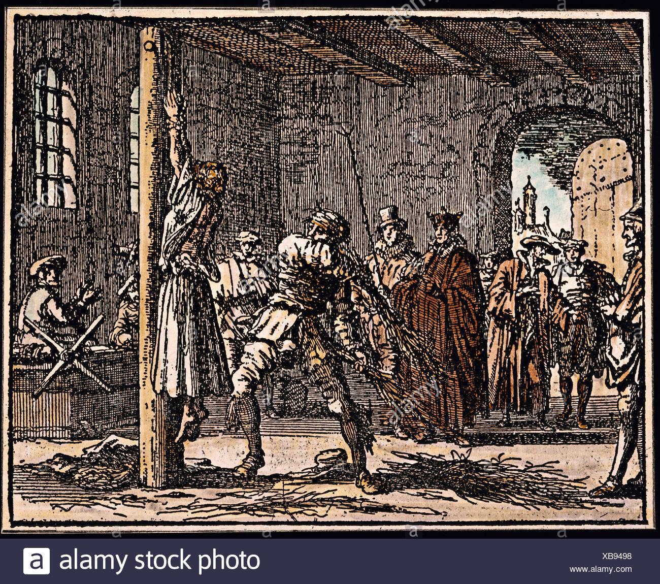 medieval flogging
