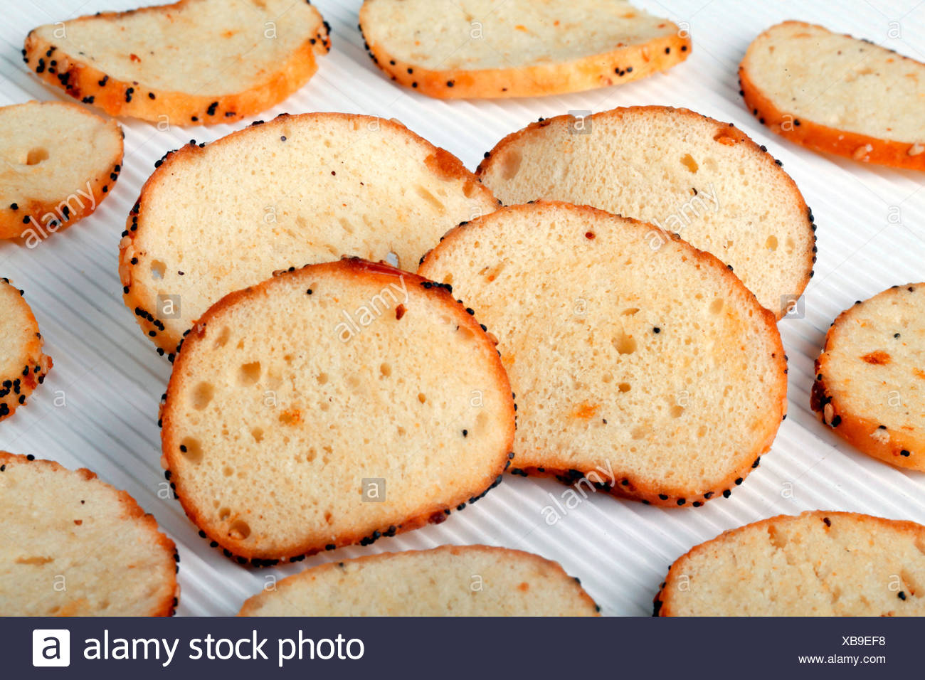 BAGEL CHIPS - Stock Image
