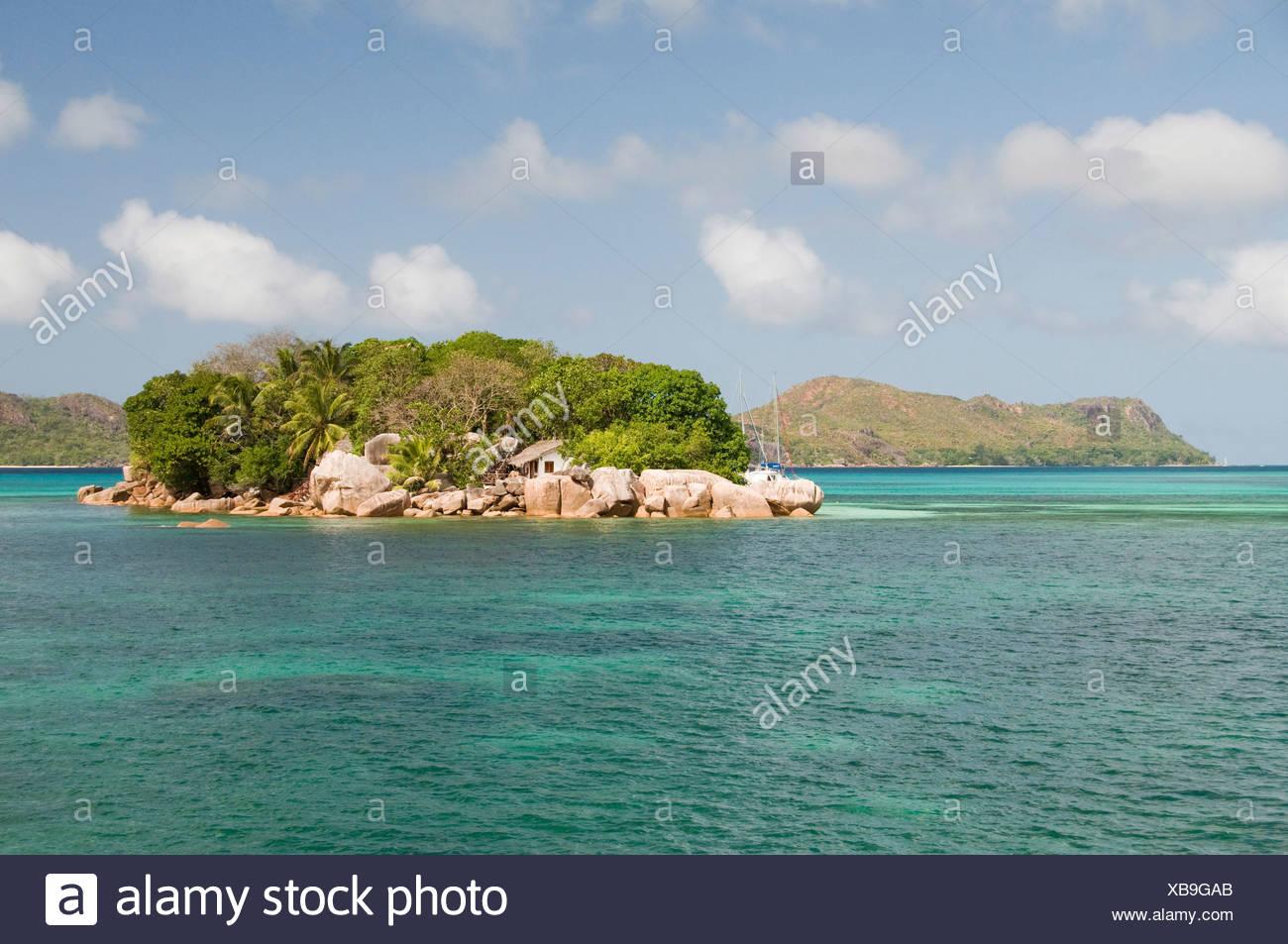 Chauve Souris Islet, Seychelles, Africa, Indian Ocean Stock Photo
