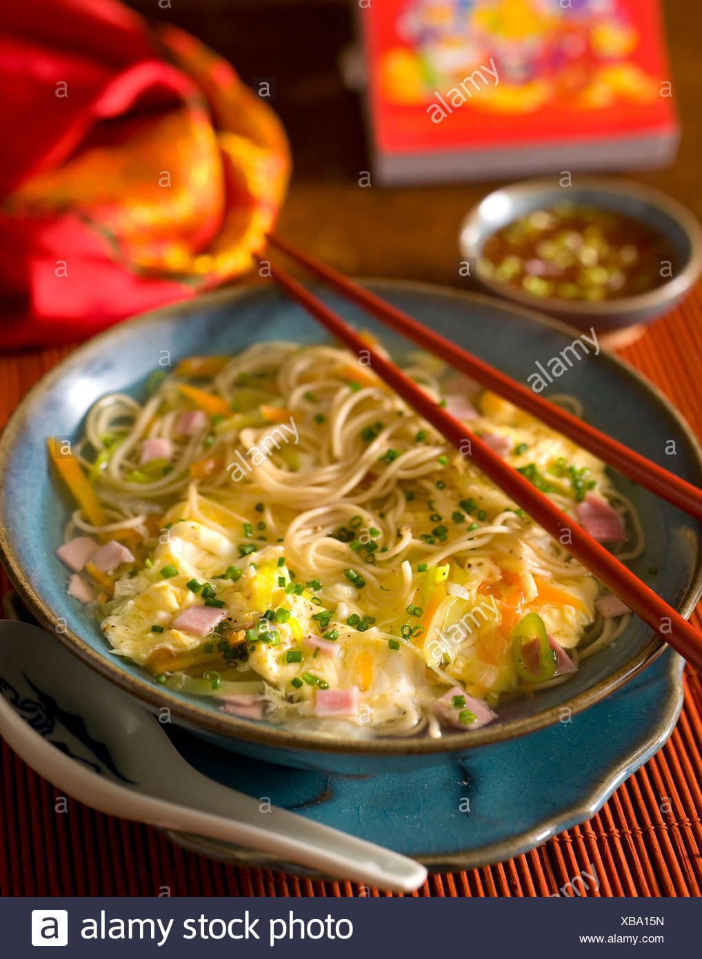 Chineese Noodles - Stock Image