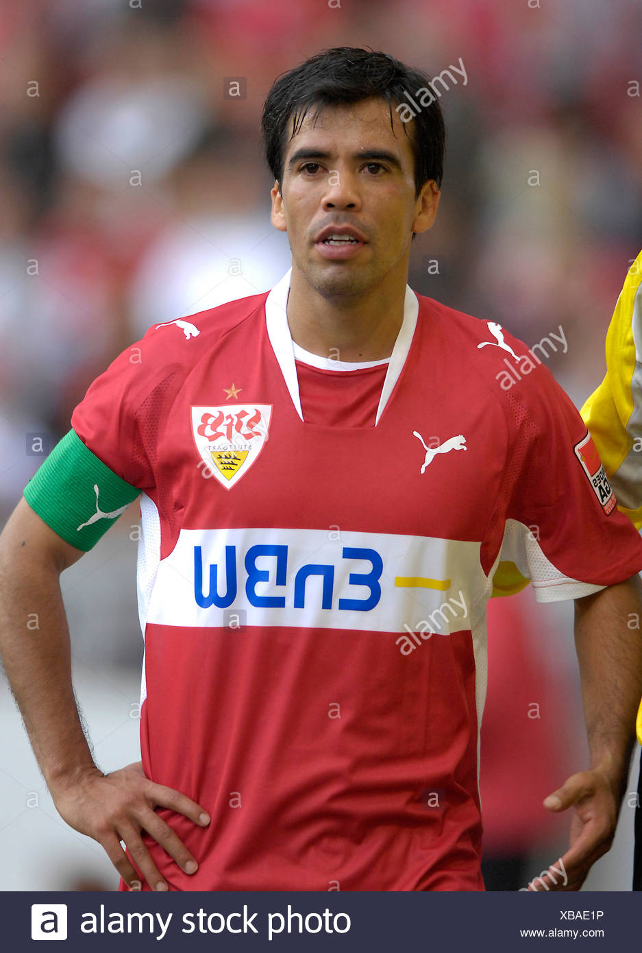 Pavel PARDO VfB Stuttgart with captain's armband - Stock Image