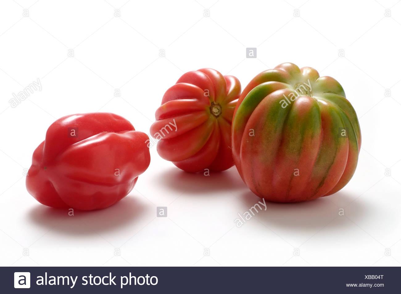 Tomato varieties:Zahnradtomate - Stock Image