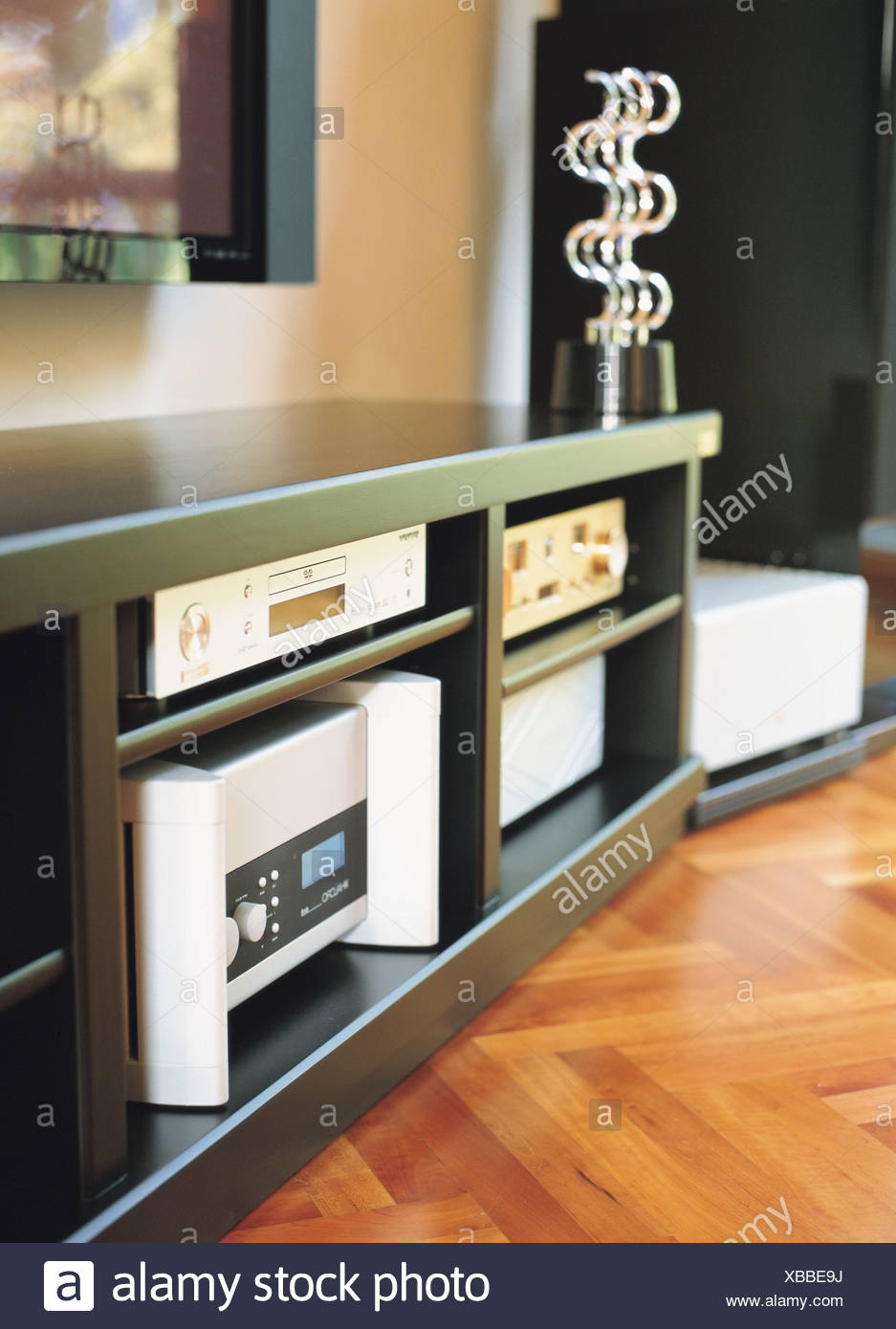 Home Theater System In A Cabinet