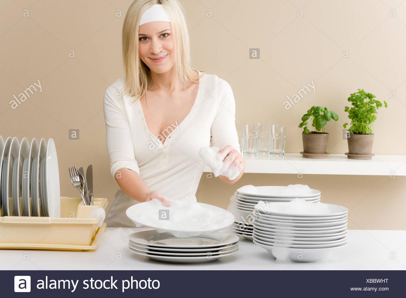 Bbw kitchen mature plays
