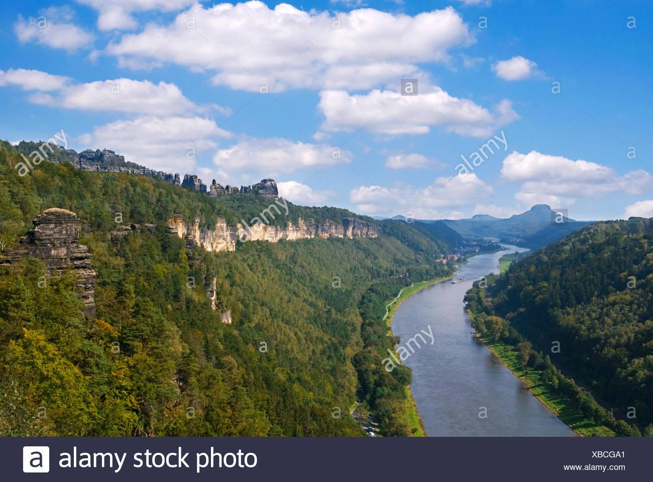 Sächsische Schweiz - Stock Image