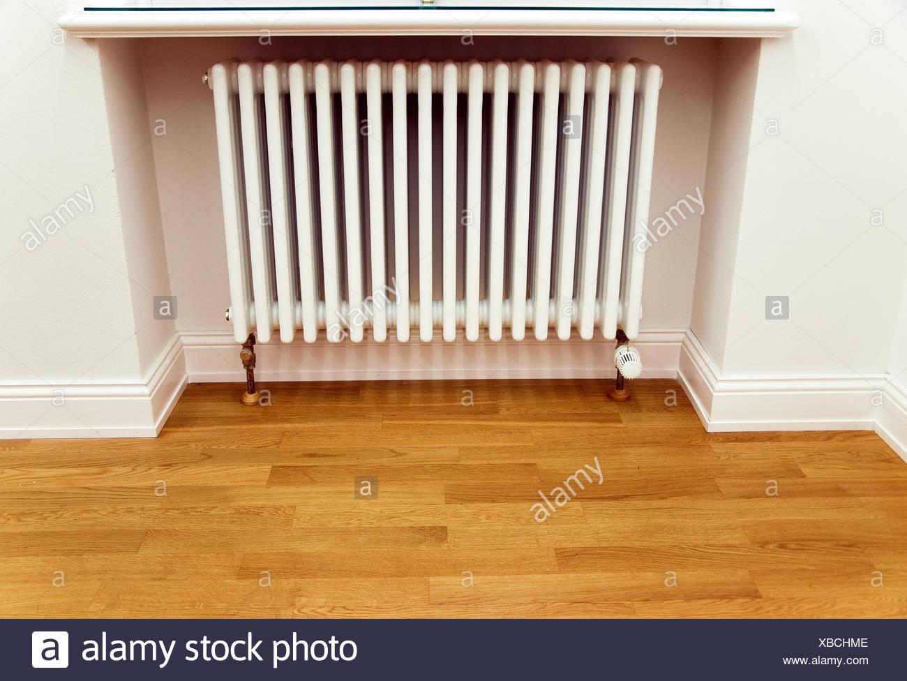 radiator parquet - Stock Image
