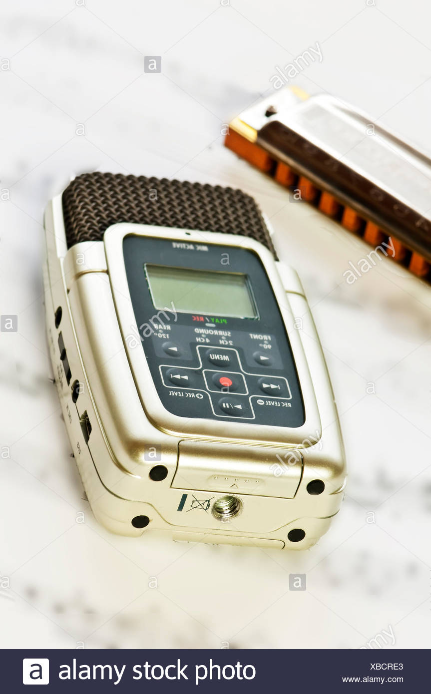 digital recorders Stock Photo