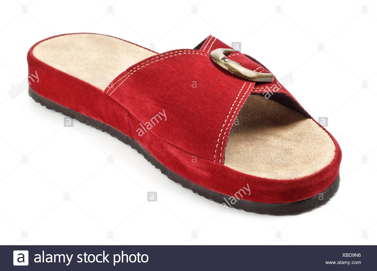 d1356656ed4 red slipper Stock Photo  282420130 - Alamy