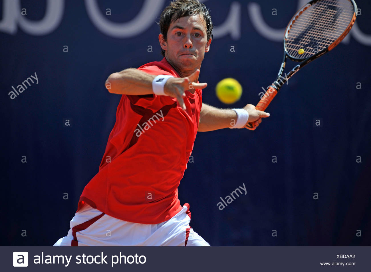 Simon Greul, Germany, Mercedes Cup Stuttgart 2009, Baden-Wuerttemberg, Germany, Europe - Stock Image