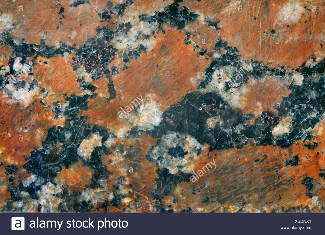 granite from Ukraine, Ukraine - Stock Image